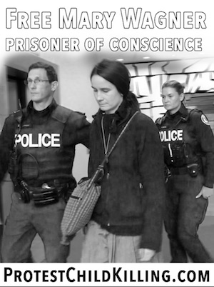Free Mary Wagner Prisoner of Conscience